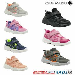 kids sneakers boys girls mesh lace up