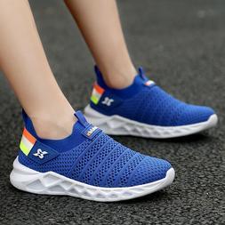 Kids Sneakers Lightweight Casual Athletic Tennis Walking Sho