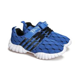 Kids Sneakers Mesh Breathable Athletic Running Shoes for Boy