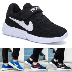Kids Sneakers Running Shoes Breathable Sports Casual Athleti