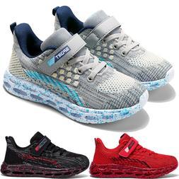 Kids Sneakers Ultra Lightweight Mesh Running Tennis Shoes fo