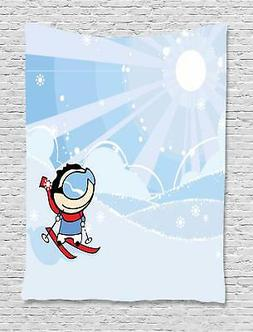 Kids Sports Tapestry Wall Hanging Decoration for Room 2 Size