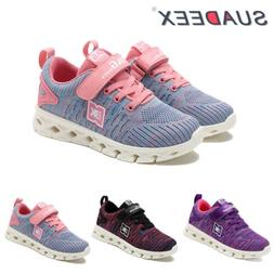 Kids Tennis Running Shoes Breathable Casual Athletic Walking