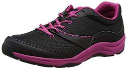 Vionic Kona Women's Orthotic Athletic Shoe ~ Black/Fuscia ~1