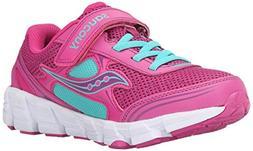 Saucony Girls Kotaro 2 Alt Closure Sneaker , Fuchsia/Pink, 1
