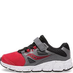 Saucony Boys Kotaro 4 A/C Sneaker Red, 5 XW US Big Kid