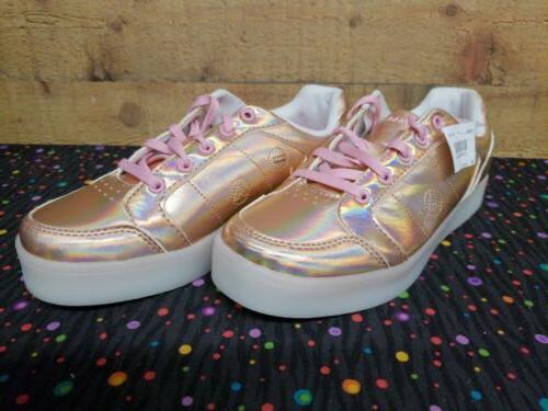 Airwalk 172942 Jazz Rose Sneakers Girls Shoes 3.5 NWB