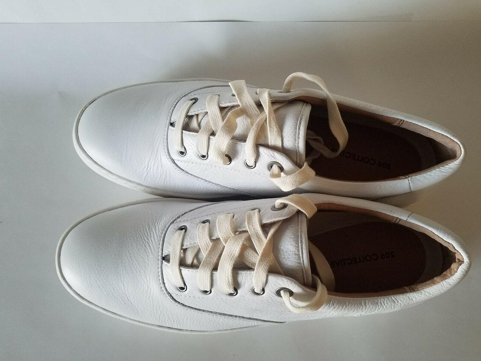 206 Collective Casual White Leather, 13