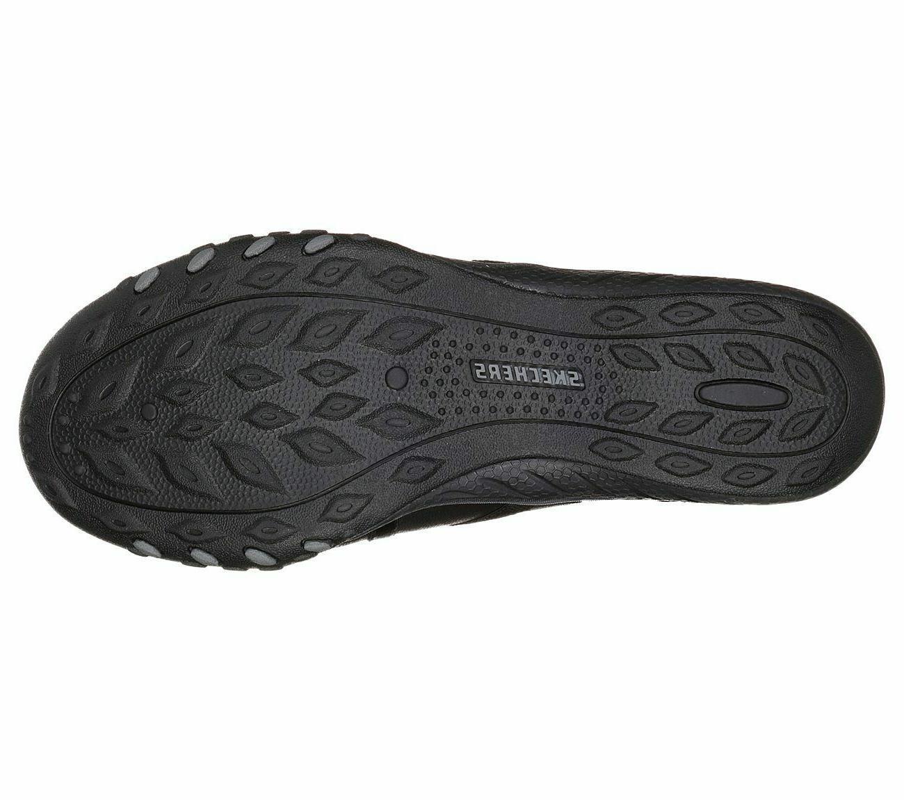 Skechers 23235 Breathe Easy Look Black #MB4