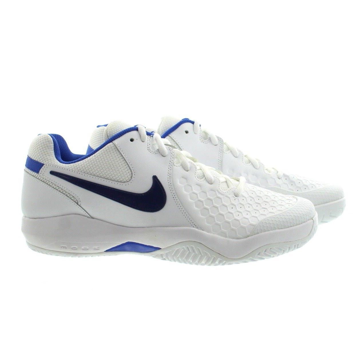 Nike 918194 104 Mens Court Air Zoom Resistance Lightweight T
