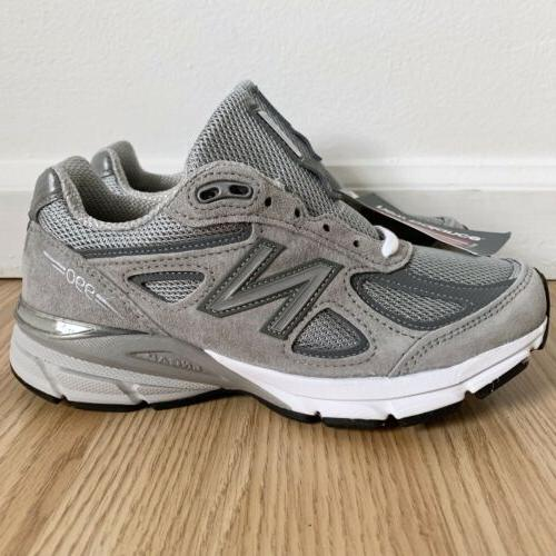 cheap for discount 6e532 1148d New Balance 990v4 Made In USA # W990GL4 Grey Silver Sneakers Women's Size 5