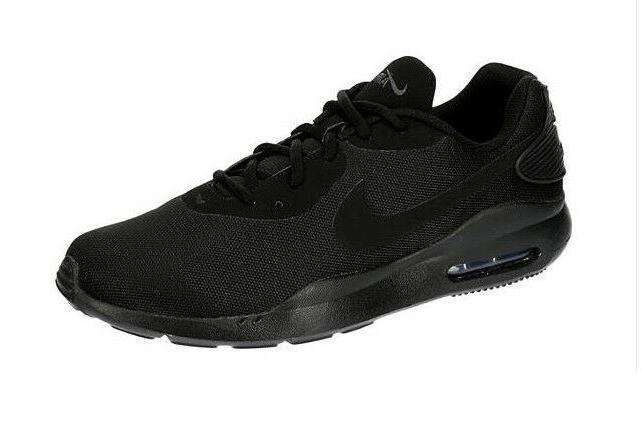 Nike Max OKETO Mens Black Running Shoes NIB