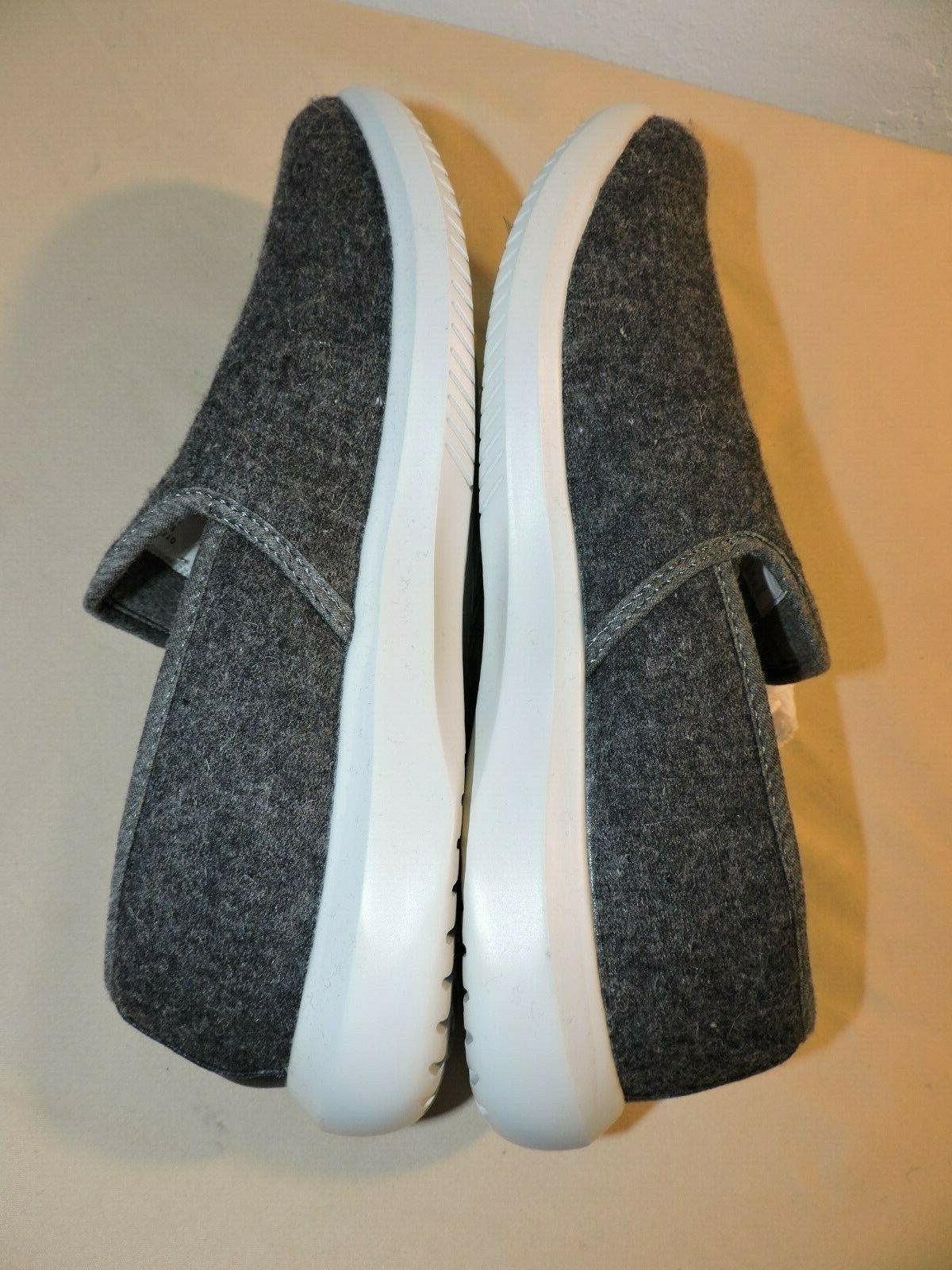 Amazon Men's Rayford Wool Blend Sneakers Size D Slip On