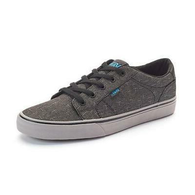 bishop men s sneakers gray black blue