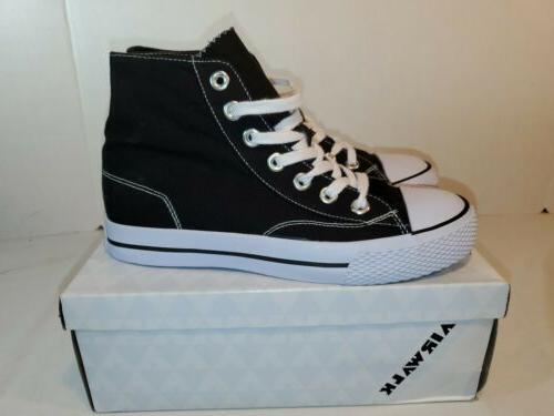 AirWalk Black Canvas Shoes womans Size