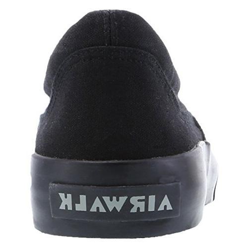 Airwalk Men's Black Men's Stitch Slip On 12 Regular