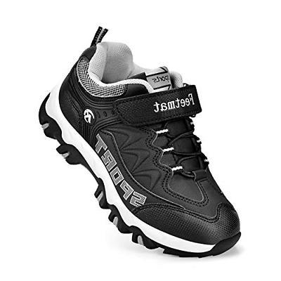 QANSI Boys Tennis Sneakers Waterproof Little Kids Athletic S