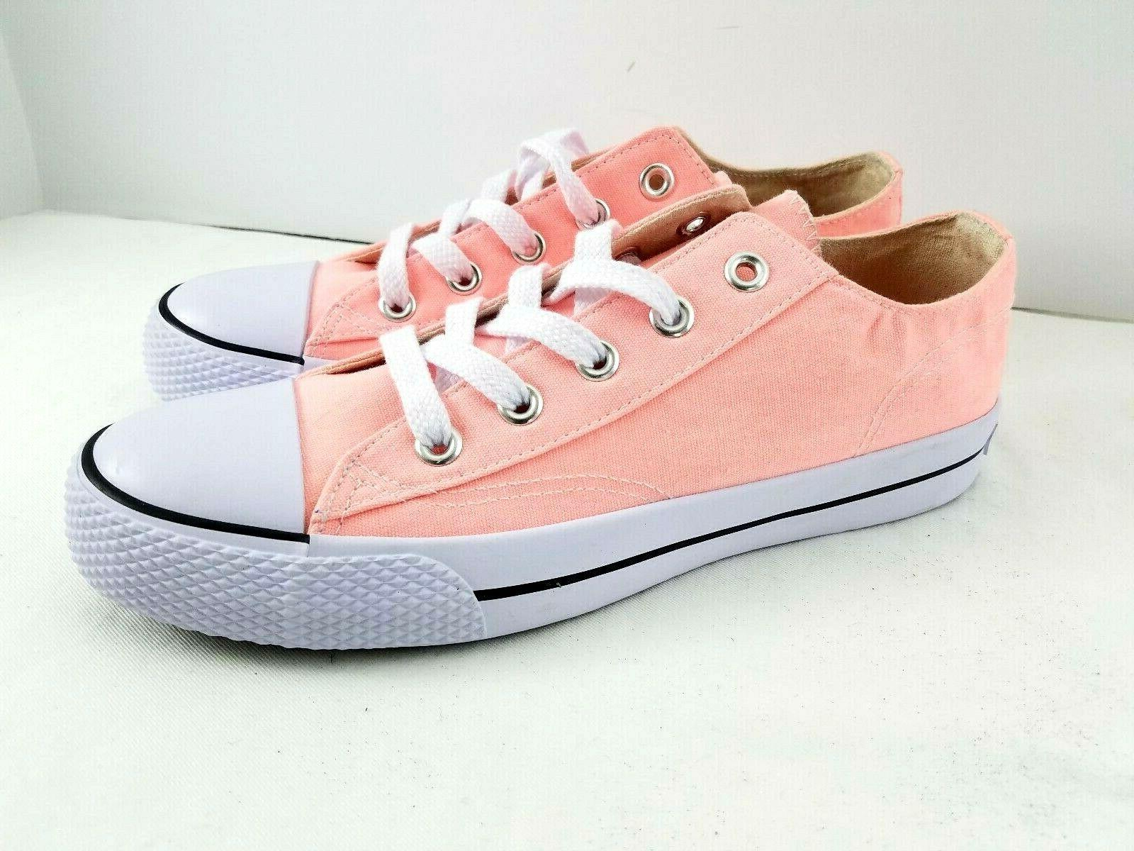canvas pink shoes sneakers pink white womens