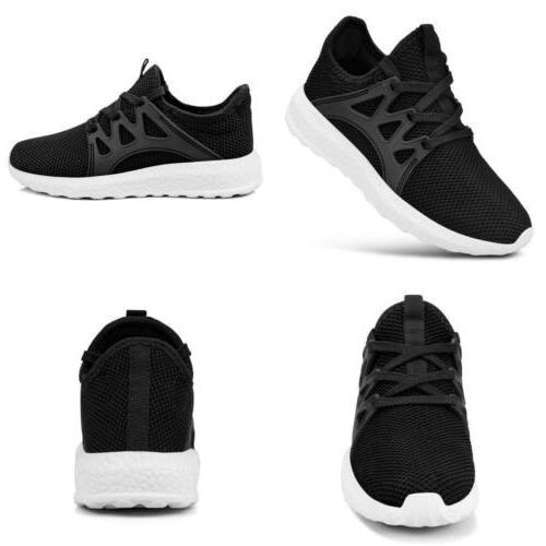 QANSI Child Kids Fashion Sneakers Ultra Lightweight Breathab