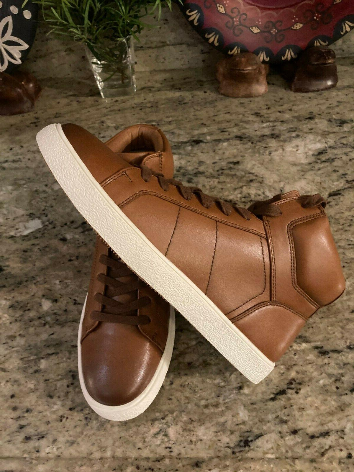 High-Top Tan Sneakers Size USA MSRP $90.00