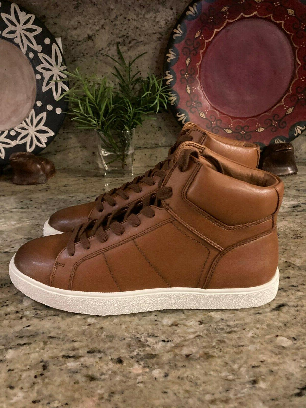 Clearance KINGSIDE High-Top Tan Size USA MSRP $90.00