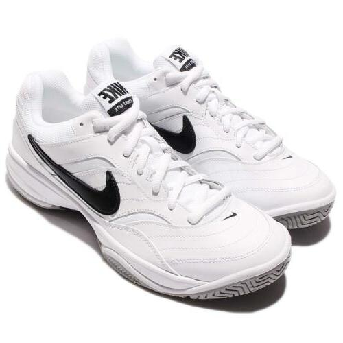Nike Court Lite White Black Mens Tennis Shoes Sneakers Train