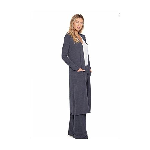Barefoot Dreams CozyChic Lite Women's Duster, Sleeve, Maxi Cardigan Duster Two Pacific Blue