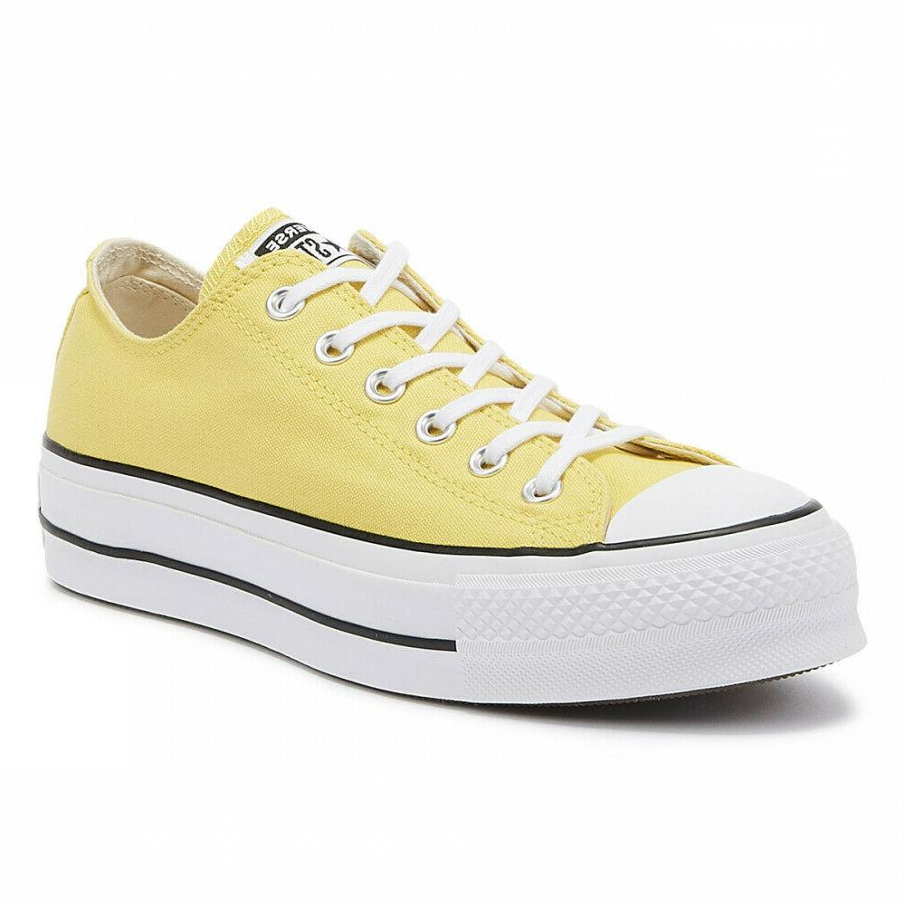 Converse CTAS Lift Platform Butter Yellow 564385C Womens Casual Sneakers