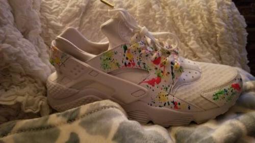 Custom Mens Sneakers 11.5 Nike hurrache