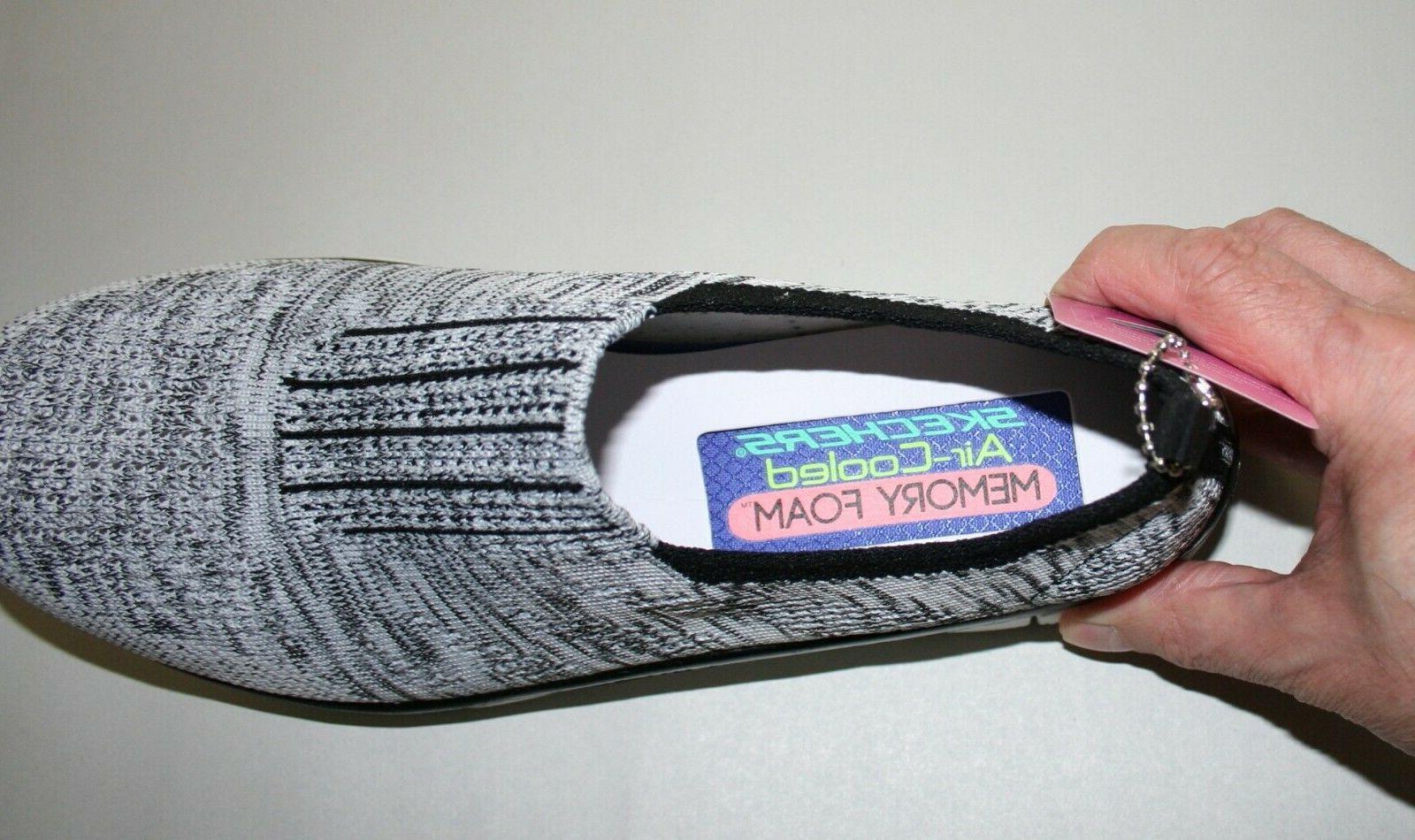 Skechers Slip On Sneakers Knit White US 8.5