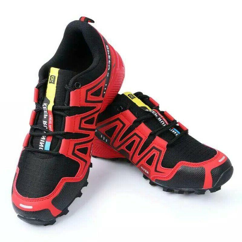 Fashion Hiking Shoes Breathable Sports Sneakers Athletic Big