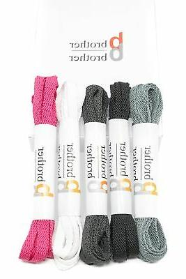 Flat Shoelaces Lace Replacements - For Converse, Sneakers, S