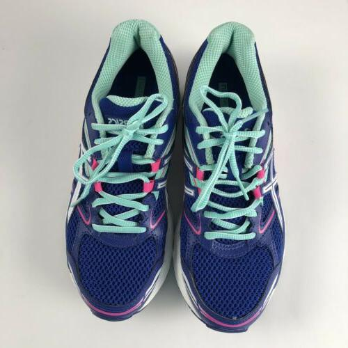 ASICS EQUATION Athletic Shoes Size 7.5 Blue
