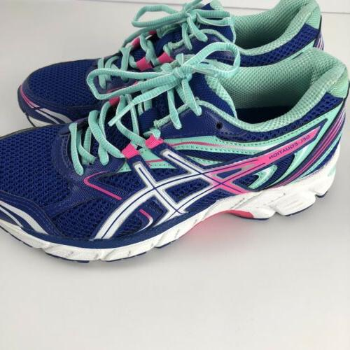 ASICS Gel Athletic Running Shoes Size 7.5 Blue T5Q6N