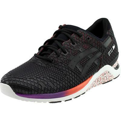 gel lyte evo sneakers black mens