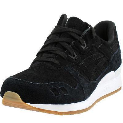 gel lyte iii sneakers black mens