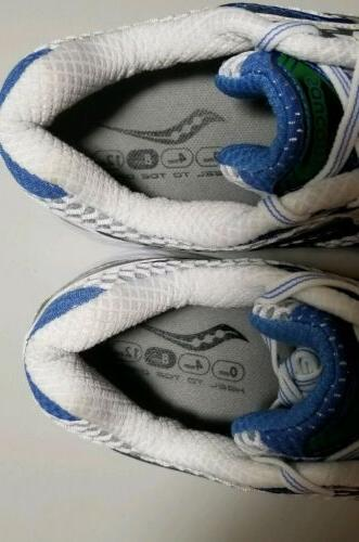 Saucony Guide Womens Running Shoes Sneakers Blue Pro New Sz 10