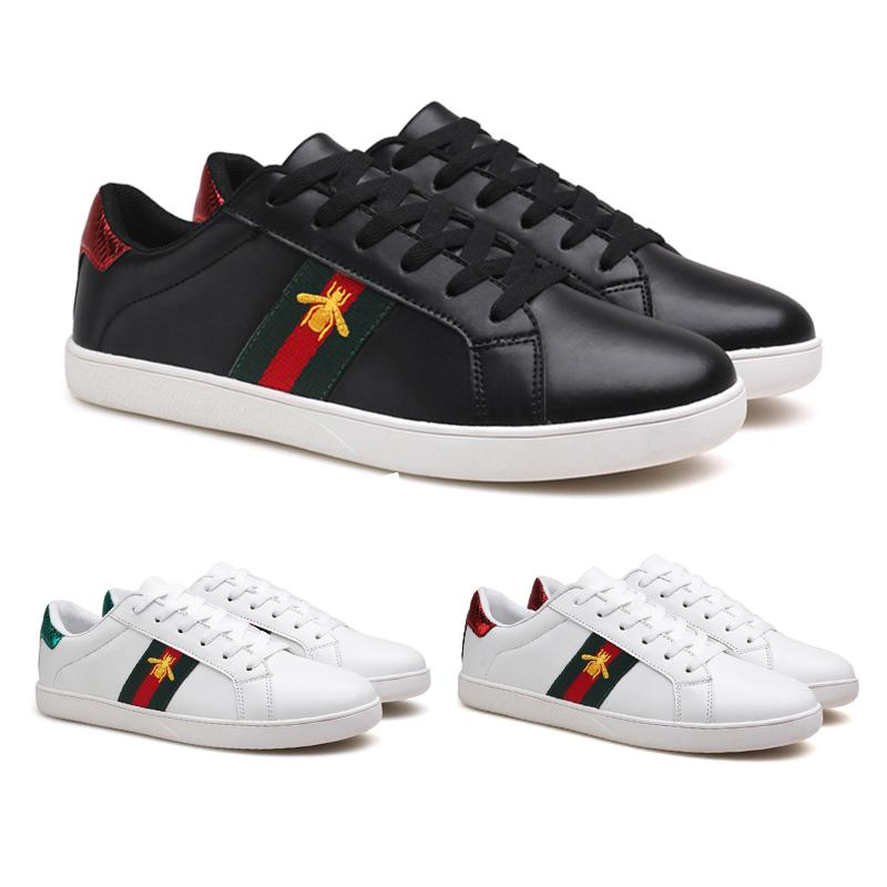 hot men s embroidery bee casual shoes