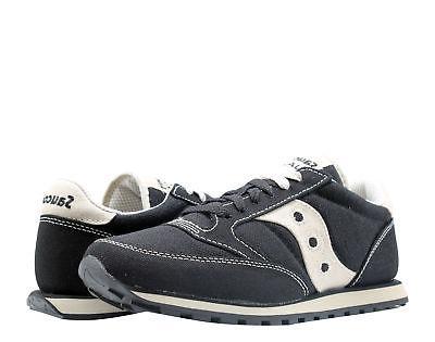 Saucony Jazz Low Pro Vegan Black/Oat Men's Running Shoes 288