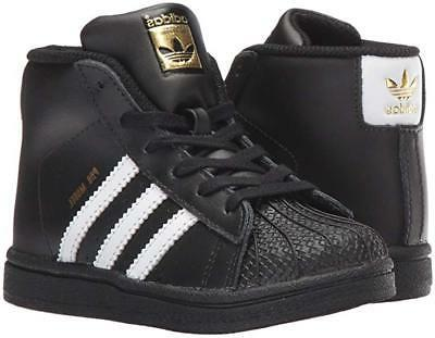 adidas Kids' Pro Model Inf Sneaker Shoes for Toddlers Black