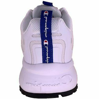 Champion Pro Sneakers White Scarlet