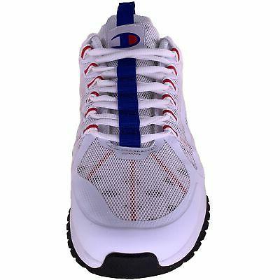 Pro Sneakers White Black Scarlet