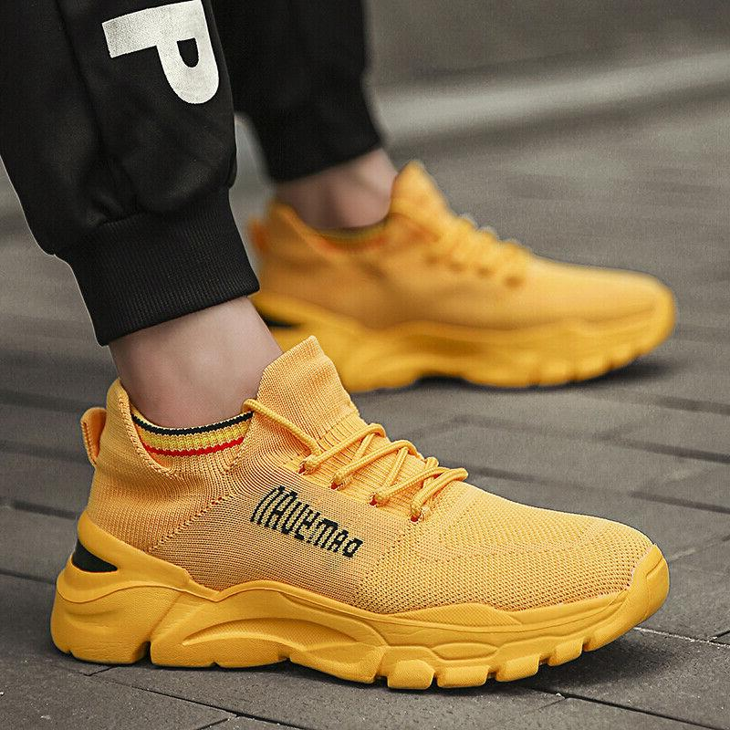 Men's Athletic Fashion Sports Running Tennis Shoes Outdoor