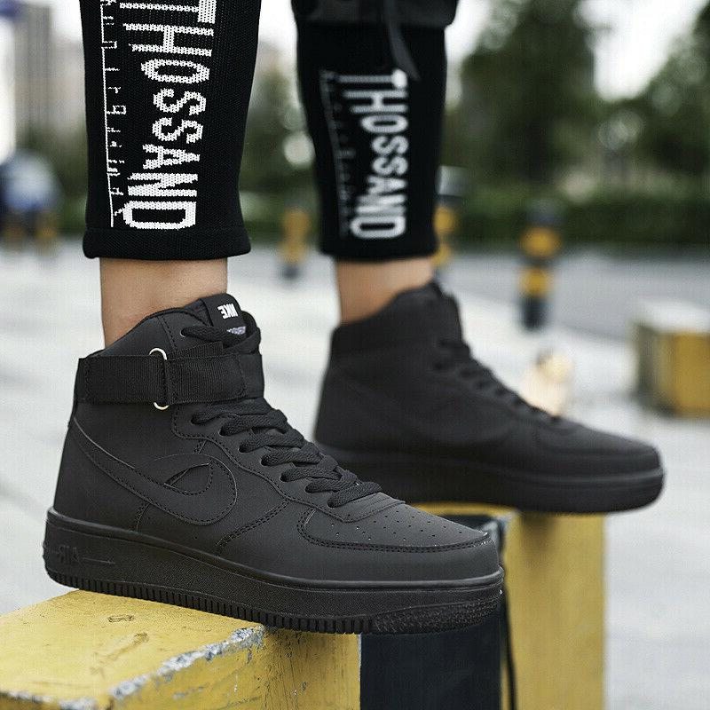 Men's Basketball Boots Fashion Sneakers Breathable