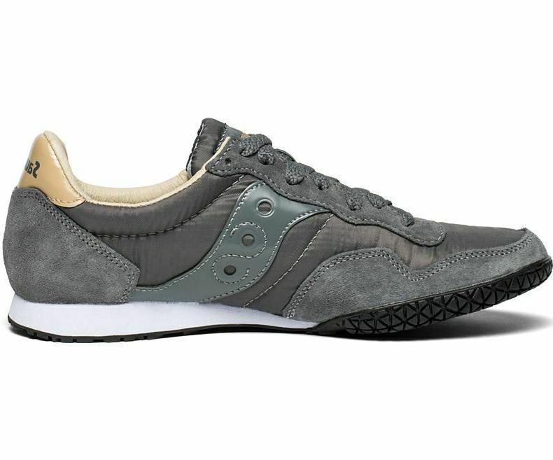 Saucony Men's Sneaker Grey/Tan, 10