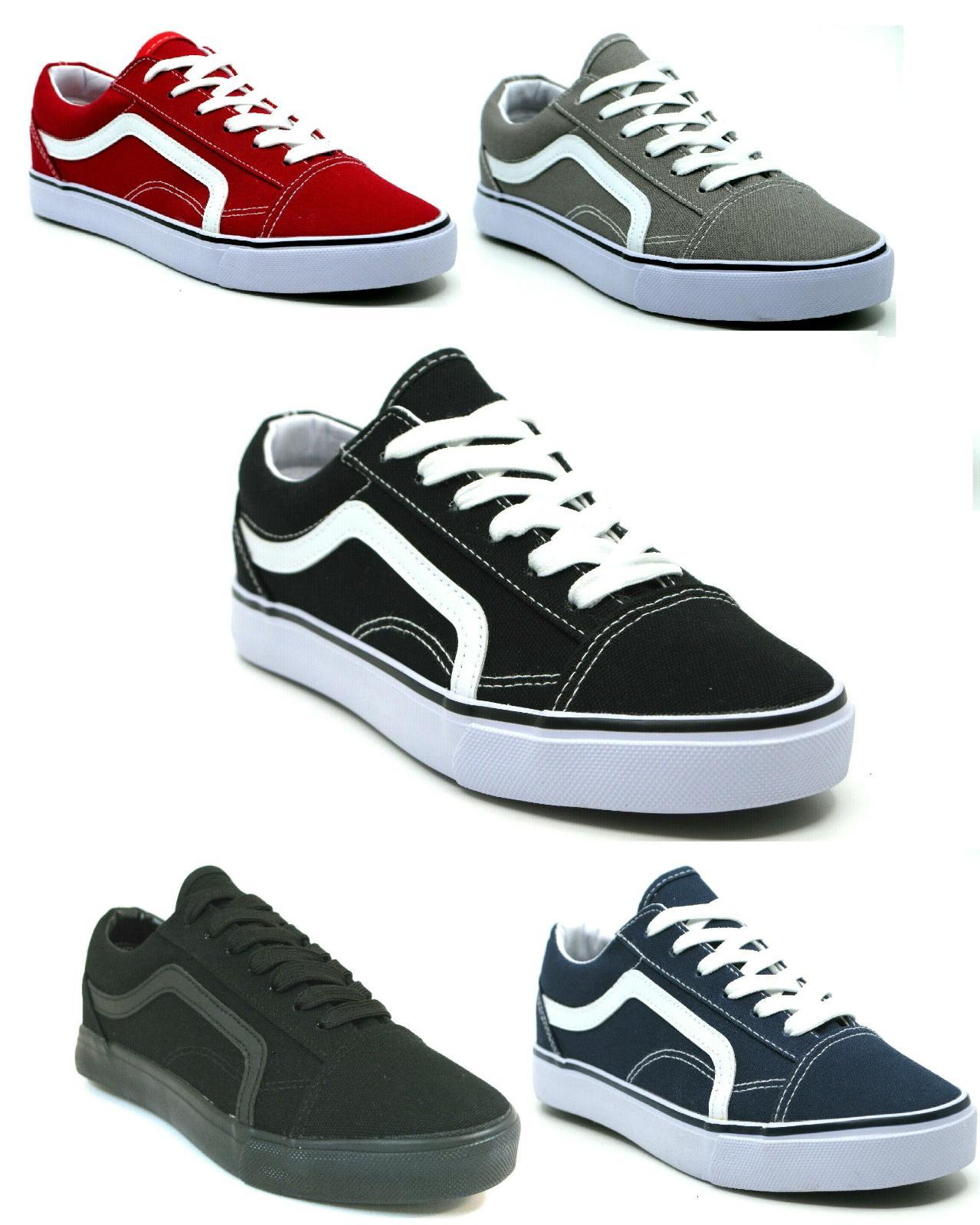men s classic lace up canvas shoes