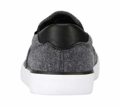 Men's On Sneaker Black/White Canvas