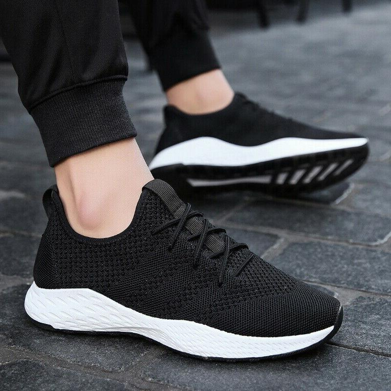 Men's Running Breathable Shoes Sports Athletic Sneakers