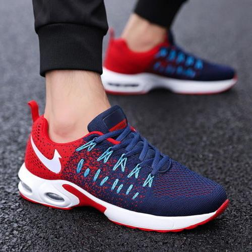 Men's Running Breathable Shoes Sports Walking Athletic Sneakers