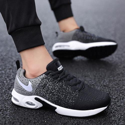 Men's Fashion Running Breathable Shoes Sports Athletic